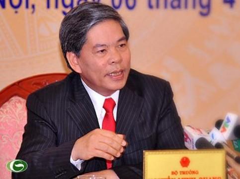 Bộ trưởng Bộ TN&MT Nguyễn Minh Quang