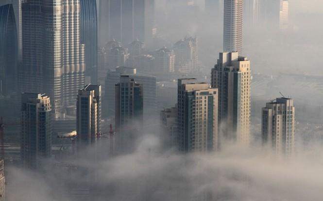 Thành phố Dubai chìm đắm trong sương mù - ảnh 3