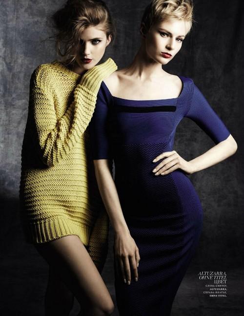 Hai siêu mẫu ngọt ngào trên Harper Bazaar - ảnh 3