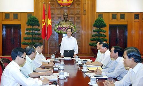 Ban Cán sự Đảng Chính phủ họp kiểm điểm theo Nghị quyết Trung ương 4 - ảnh 1