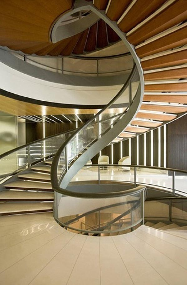 Những mẫu cầu thang đẹp lung linh - ảnh 9