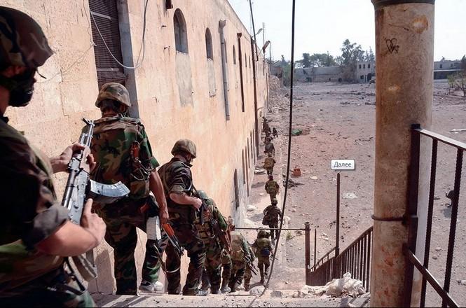 Quân đội chính phủ Syria