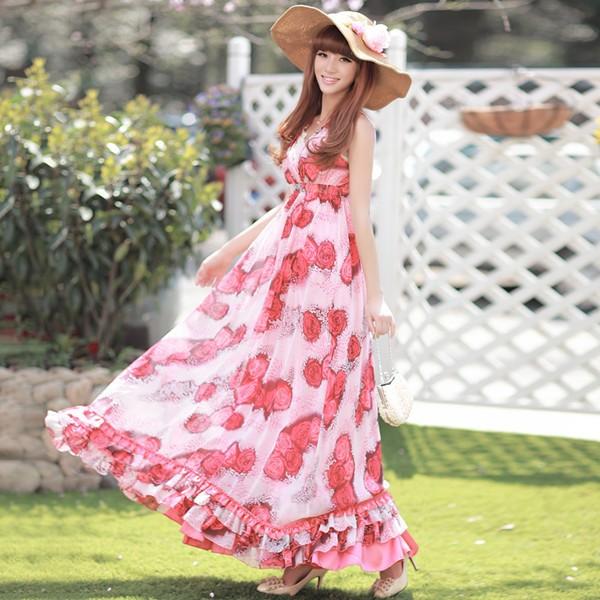 Váy maxi tung tăng đón nắng hè - ảnh 14