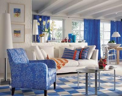 Nội thất xanh dương cho nhà mát lạnh - ảnh 7