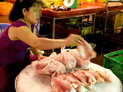 Khi ra đến chợ, người tiêu dùng khó có thể biết được cá nào nhiễm chất cấm