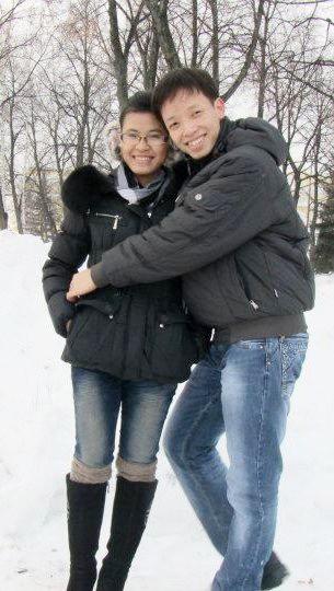 Trần Hữu Đạt và bạn gái