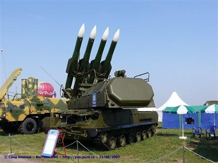 Tổ hợp tên lửa chiến trường Buk-M2
