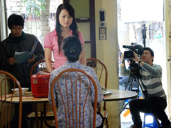 Hà - nhân vật chính trong 1 cảnh quay