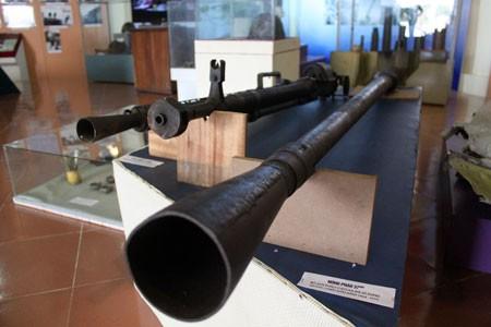 Những khẩu súng, pháo được bộ đội Pháo cao xạ sử dụng trong các cuộc đấu tranh giải phóng dân tộc