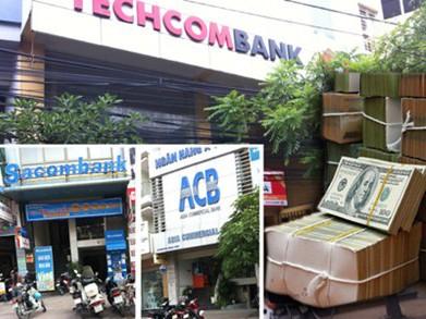 Lợi nhuận của một loạt thương hiệu lớn như ACB, Sacombank, Techcombank... đều giảm