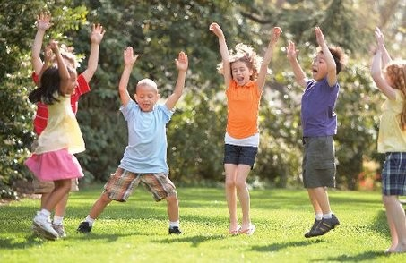 Tạo cho trẻ lối sống năng động - ảnh 1
