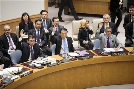 Các thành viên của Liên Hợp Quốc nhất trí cử các quan sát viên tới Syria. Ảnh: Reuters