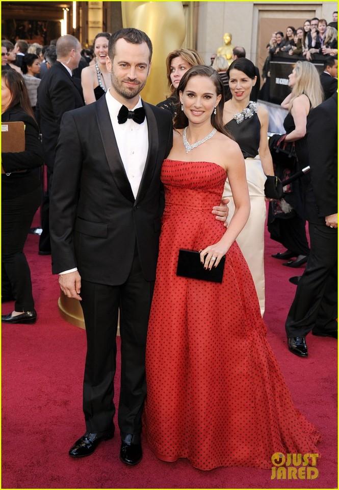 Diễn viên Nâtlie Portman và chồng