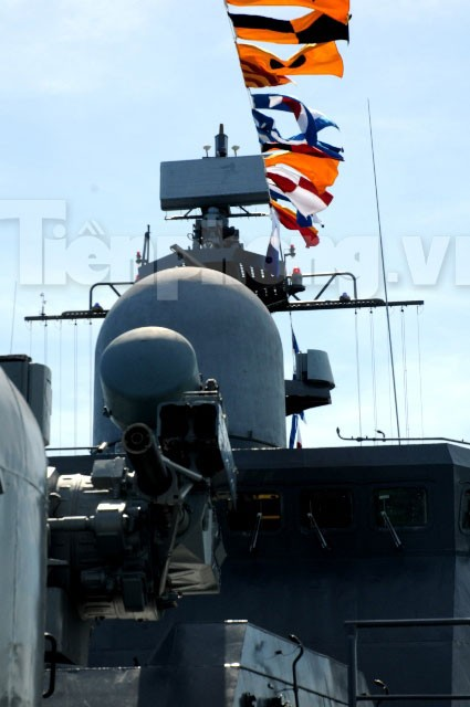 Khám phá uy lực chiến hạm Lý Thái Tổ - ảnh 7