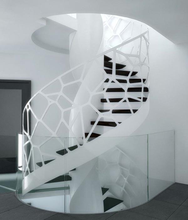 Những mẫu cầu thang đẹp lung linh - ảnh 10