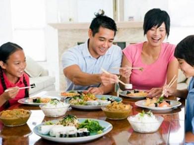 Chế độ dinh dưỡng hợp lí khiến sức khỏe của trẻ được tăng cao