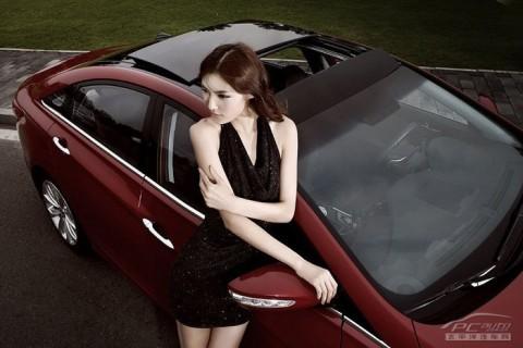 Mỹ nhân khoe sắc bên Hyundai Sonata - ảnh 11