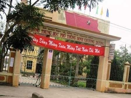 Trường THPT Đinh Chương Dương