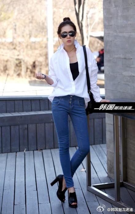 Cuối tuần xuống phố cực chất với quần jeans - ảnh 3