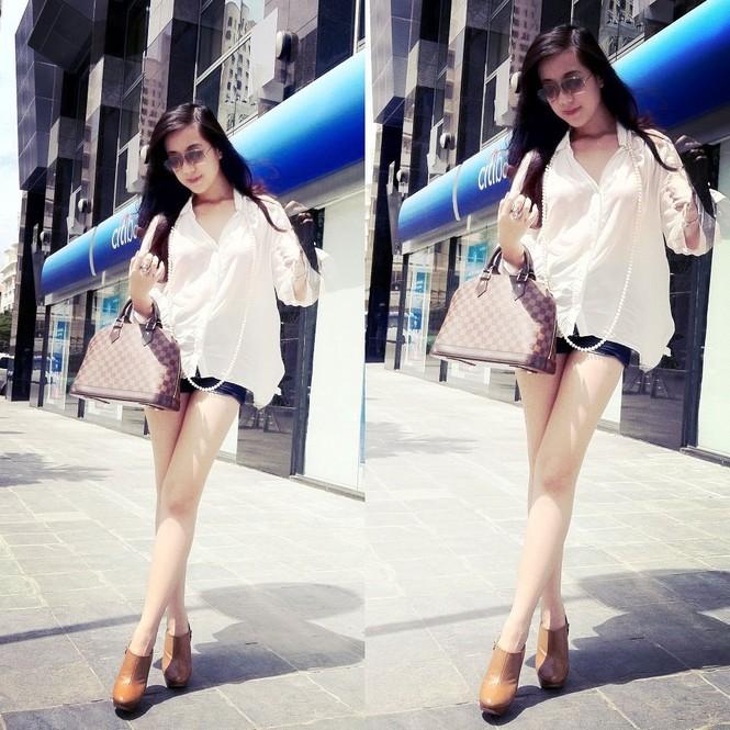 Đa phong cách cùng hot girl Mie Nguyen - ảnh 1