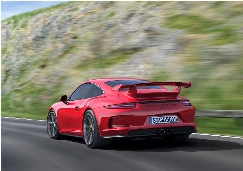 Geneva 2013: Porsche GT3 thu hút mọi ánh nhìn - ảnh 1