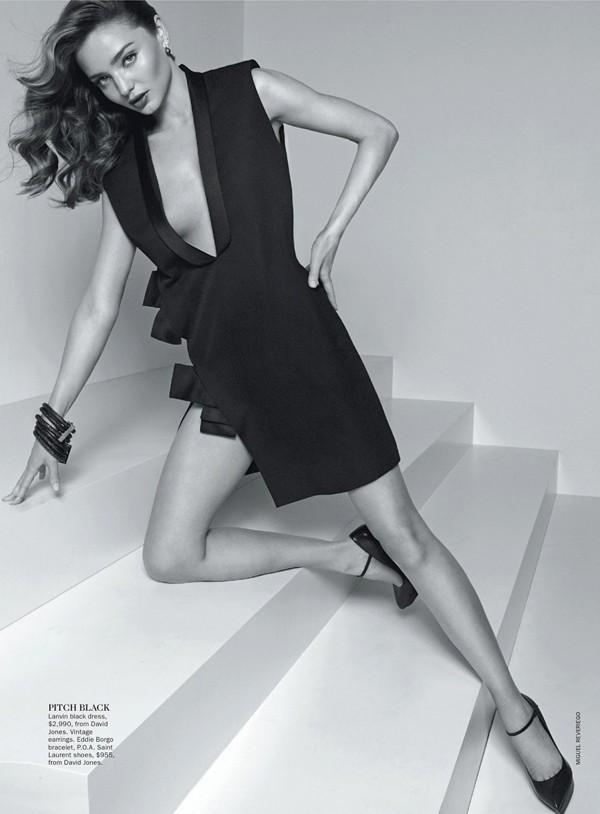 'Thiên thần' Miranda Kerr nóng bỏng trên Vogue - ảnh 5