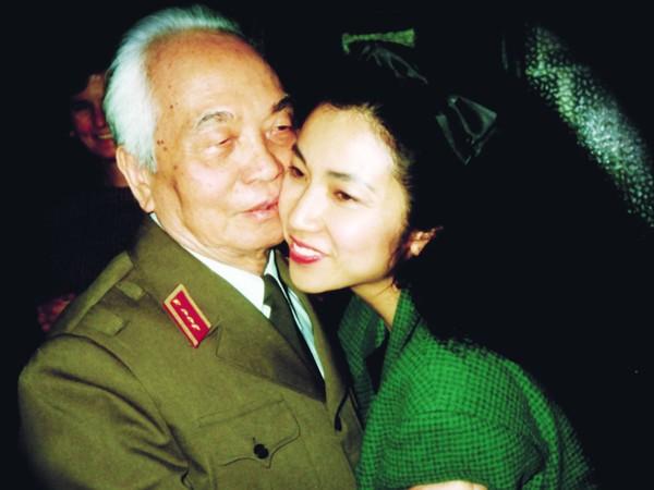 Chị Tiana đã nhiều lần có dịp gặp gỡ Đại tướng