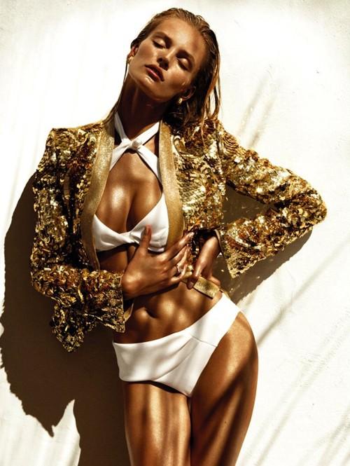 Ngắm 'nữ thần mặt trời' trêntạp chí Vogue - ảnh 1