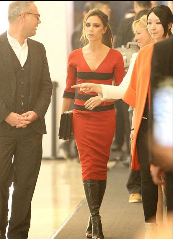 Bà Beck quảng cáo thương hiệu tại Bắc Kinh - ảnh 1