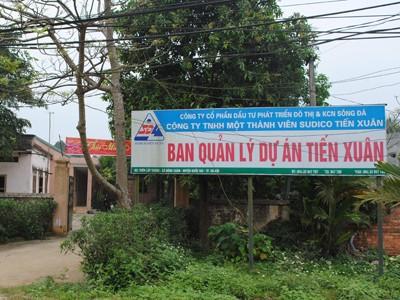 Văn phòng Ban quản lý Dự án khu đô thị Tiến Xuân