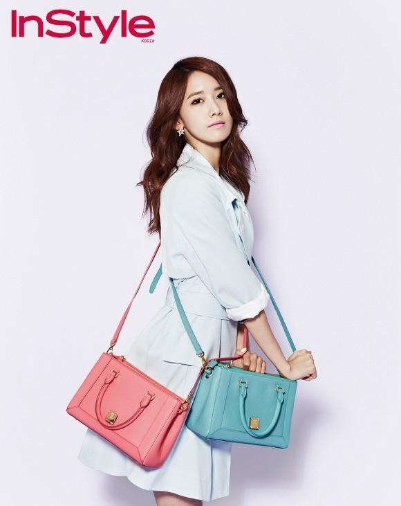 YoonA phong cách trên tạp chí InStyle - ảnh 2