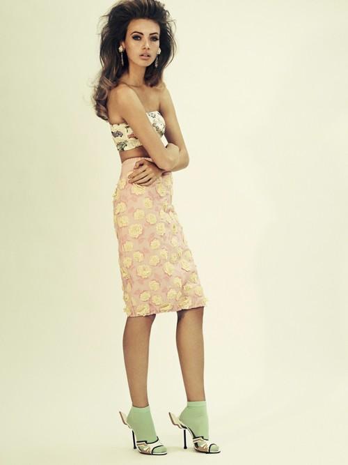 Nét đẹp cổ điển và hiện đại của 'Kate Moss' thứ hai - ảnh 6