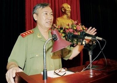 Thượng tướng Nguyễn Văn Hưởng. Ảnh: Công An Nhân Dân