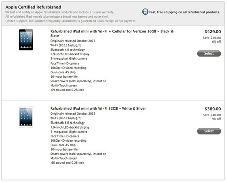 Apple ra bản 'tân trang' cho iPad mini, iPad 4 - ảnh 1