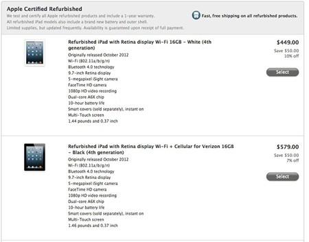 Apple ra bản 'tân trang' cho iPad mini, iPad 4 - ảnh 2