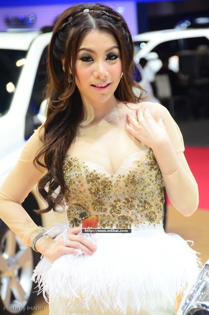 Nhan sắc ngập tràn triển lãm Bangkok 2013 - ảnh 3