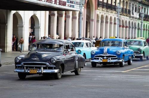 Xế cổ tại thủ đô Cuba - ảnh 1
