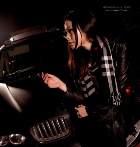 Chân dài dịu dàng bên BMW - ảnh 3