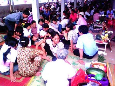 Một trung tâm áp vong ở Hà Nam