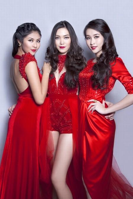 Dàn hoa hậu Việt Nam đọ sắc - ảnh 2