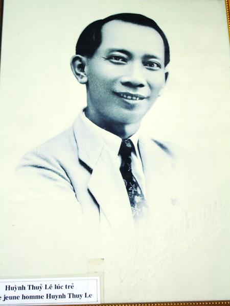 Công tử Huỳnh Thuỷ Lê lúc còn trẻ