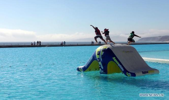 Chiêm ngưỡng bể bơi 'khủng' nhất thế giới - ảnh 3