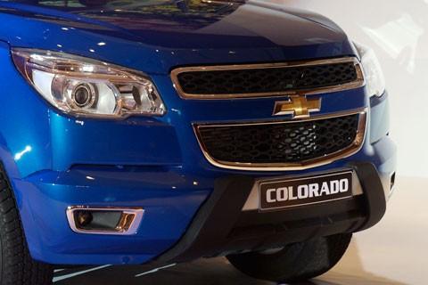 Cận cảnh Chevrolet Colorado LTZ - ảnh 8