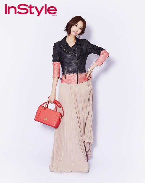 YoonA phong cách trên tạp chí InStyle - ảnh 1