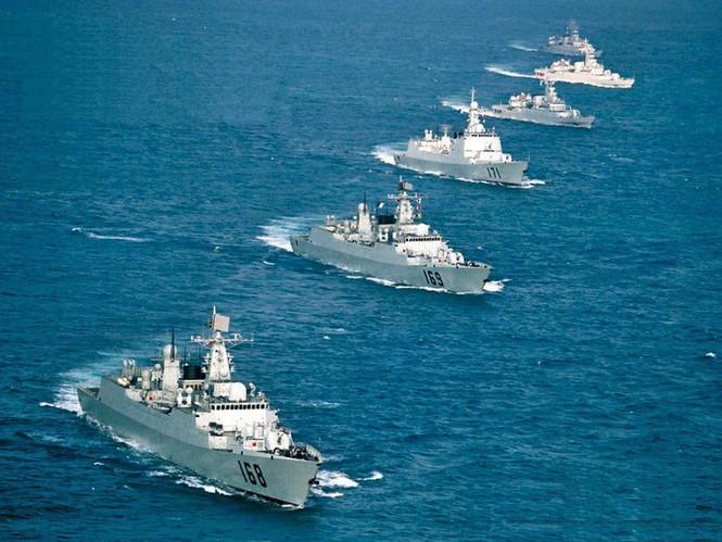 Hạm đội tầu chiến đấu của hải quân Trung quốc