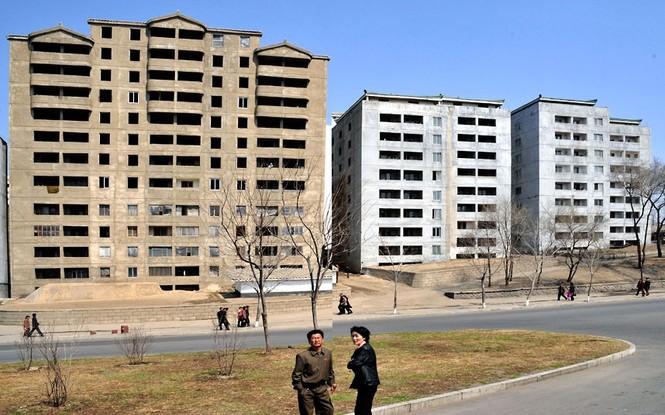 Những công trình đang trong giai đoạn hoàn tất tại thủ đô Bình Nhưỡng