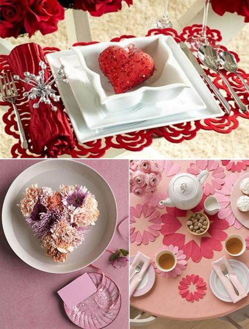 Những ý tưởng trang trí lãng mạn cho Valentine - ảnh 6