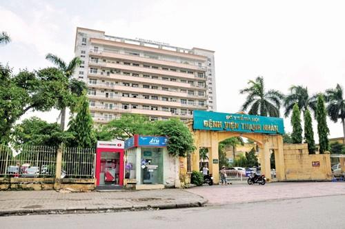 Bệnh viện đa khoa Thanh Nhàn - nơi Bác sĩ Đào Quang Minh làm việc