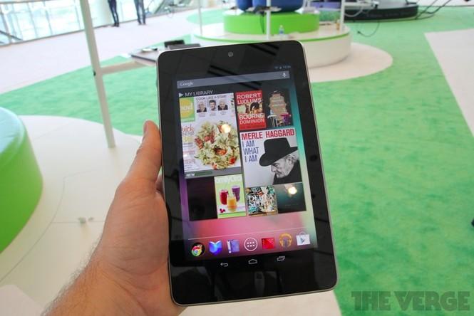Cận cảnh máy tính bảng Google Nexus 7 giá rẻ - ảnh 2