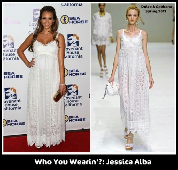 Jessica Alba mê mẩn váy maxi - ảnh 3